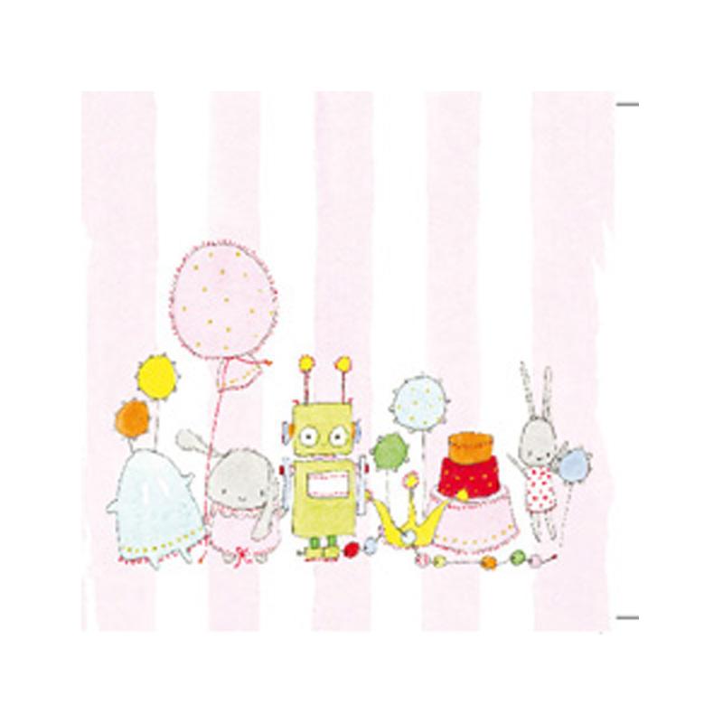 a5575x.jpg - Kort Axel, Flickleksaker på rosa rand - Elsashem Butiken med det lilla extra...
