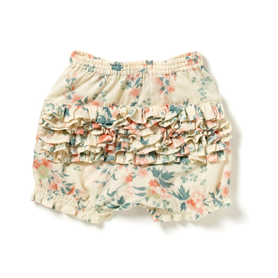 Shorts Voile Printed, Blush