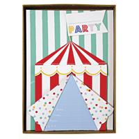 Senaste nytt Inbjudningskort, Cirkus