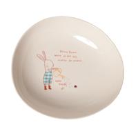 Senaste nytt Melamine skål, Bunny Green