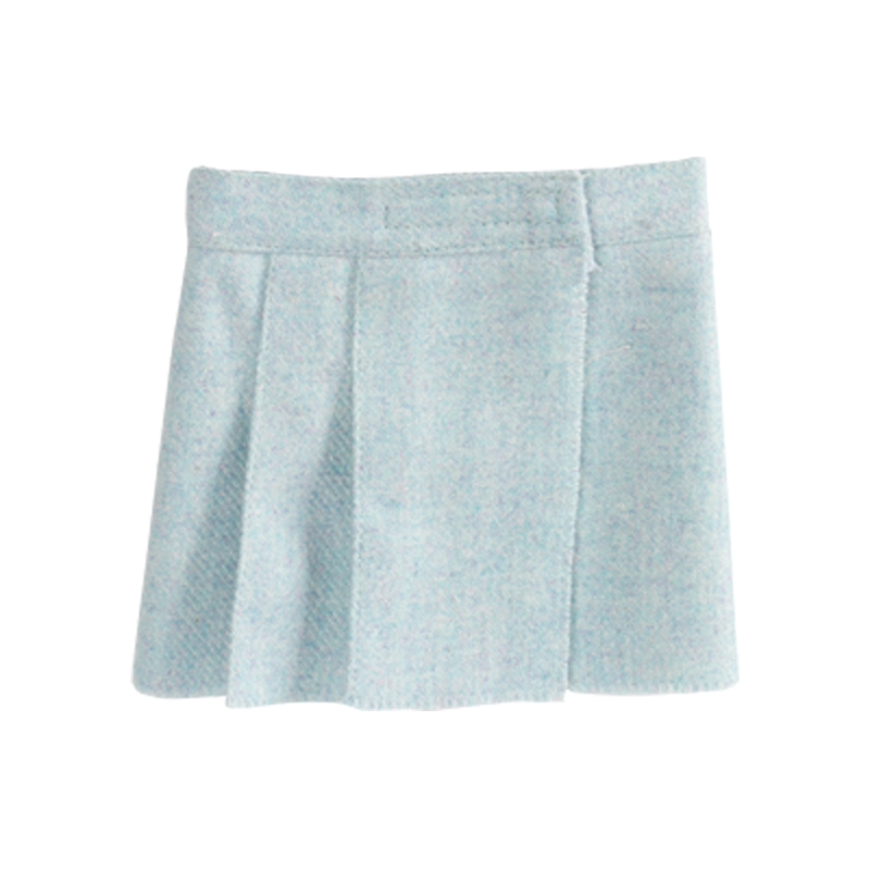 a8415x.jpg - Tweed kjol Blå, Maxi - Elsashem Butiken med det lilla extra...