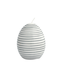 Senaste nytt Candle Easter egg, Warm grey Large