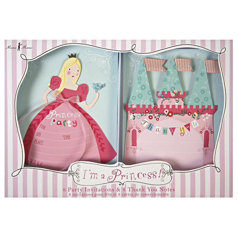 a9258x.jpg - Inbjudningskort, I´m a princess - Elsashem Butiken med det lilla extra...