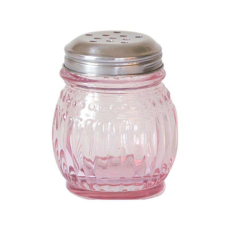 a9316x.jpg - Glass sugar shaker, Pale pink - Elsashem Butiken med det lilla extra...