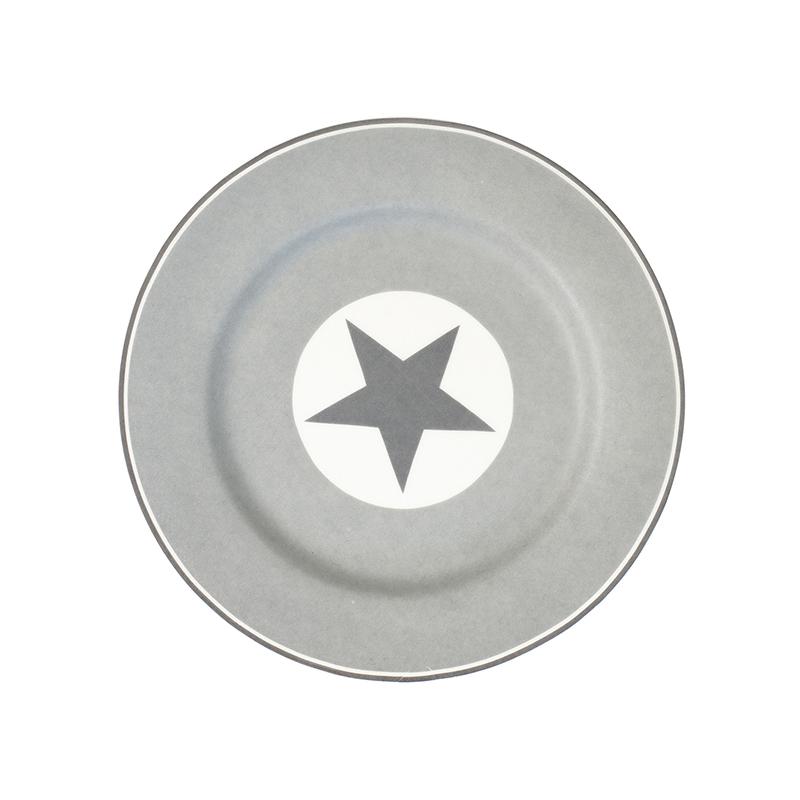 a9427x.jpg - Assiette Big star, Warm grey - Elsashem Butiken med det lilla extra...