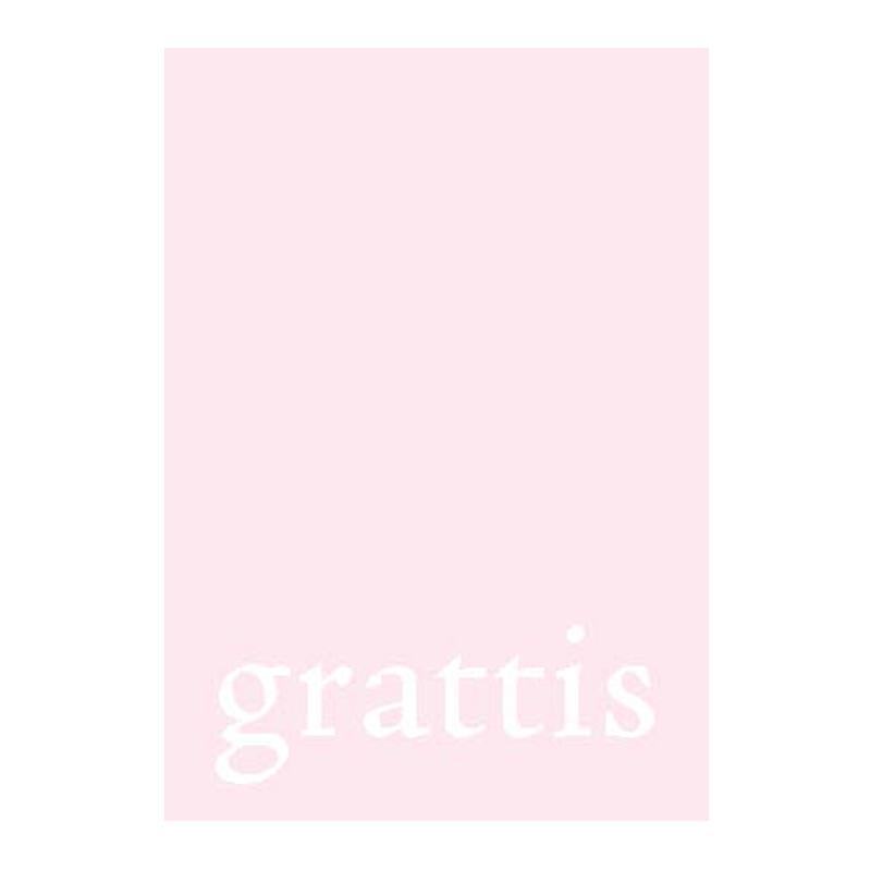 a9709x.jpg - Pyttekort, grattis på rosa - Elsashem Butiken med det lilla extra...